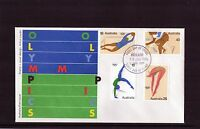 1976 Montreal Olympic Games Set Of 4 FDC, Mint Condition