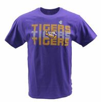 NCAA Louisiana State University Men's LSU Tigers T-Shirt, Purple Large