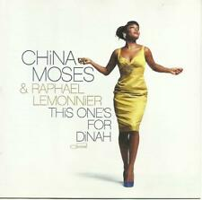 China Moses & Raphael Lemonnier: [Made in the EU 2008] This One's For Dinah   CD