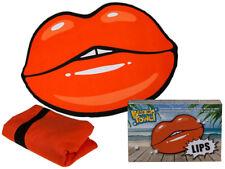 Nouveauté grand Lèvres en Forme de plage bain natation doux Serviette de nouveau dans boîte cadeau