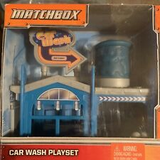 Matchbox Car Wash Playset With Die Cast Car & 2 figure by Mattel New 2012