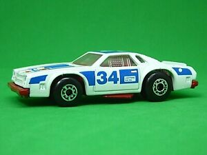 Matchbox Lesney Superfast No.34f Chevy Pro Stocker (RARE RED BASEPLATE)