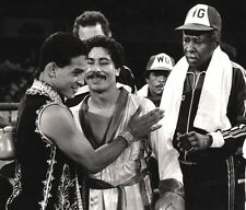 WILFREDO GOMEZ & HECTOR MACHO CAMACHO 8X10 PHOTO BOXING PICTURE