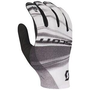 Scott RC Pro Full Finger Cycling Gloves - White