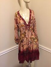 NWT!  Women's Sz: S Abstract Print Viscose Tunic by DIDI    #5