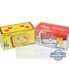 1 BOX PROTECTOR for NEW Nintendo 2DS XL Console 2DSXL 0.5mm PLASTIC DISPLAY CASE