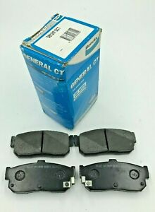 DB1247GCT Bendix Rear Brake Pads for Nissan Maxima A32 J30, Pulsar N14, Bluebird