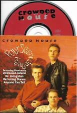 CD CARTONNE CARDSLEEVE 4T CROWDED HOUSE FOUR SEASONS IN ONE DAY 1992