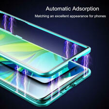 For Xiaomi Mi Note 10 Pro CC9 360° Magnetic Adsorption Tempered Glass Case Cover