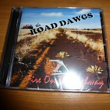 CD.THE ROAD DAWGS.FIRE ON THE HIGWAY.HEAVY SOUTHERN. USA.2003.PROD THOMASSON /
