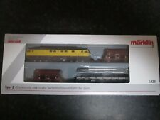 Marklin spur z scale/gauge DB Track Construction Train. New.