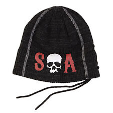 Sons Of Anarchy SOA Skull Slouch Knit Beanie Hat