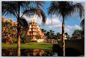 Mexico World Showcase EPCOT Center Walt Disney World Continental Postcard New