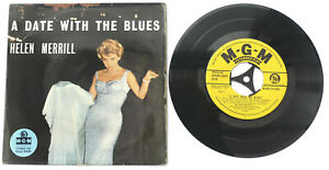 HELEN MERRILL A Date With The Blues UK 1958 MGM-EP 699 Rare Jazz!