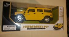 Lollipop Yellow Hummer H2 1:24 Licensed Friction Powered Truck NEW