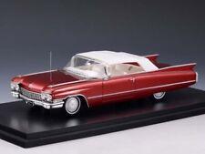 Stamp Models Cadillac Series 62 Convertible 1960 Maroon (CLOSED)1:43 STM60302