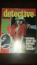 master detective magazine november 1981 good condition for age