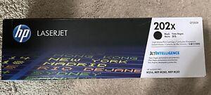 HP 202X High Yield Original LaserJet Toner Cartridge, Black (CF500X)