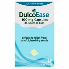 DulcoEase Stool Softener 30 Soft Gel Capsules | **Free Post**