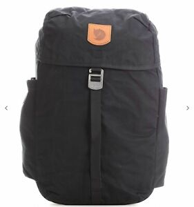 Fjallraven Greenland Top Small Backpack - Black and Deep Forest