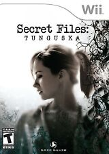 SECRET FILES TUNGUSKA ( JEUX NINTENDO WII ) NO MANUAL