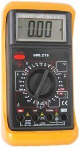 Mercury 10 Amp Digital Multimeter Temperature and Measurement AC DC Probes Test