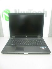 "HP EliteBook 8740w 17"" i5 2.4GHz 8GB/160GB Webcam Linux Laptop AC ""No Battery"""