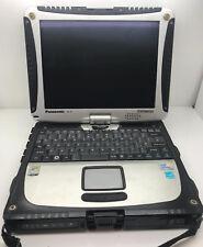 PANASONIC TOUGHBOOK CF19 MK3 1.20GHZ 500GB 2GB TOUCHSCREEN RUGGED TABLET LAPTOP