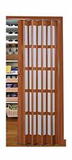 "Flexi Space Walnut Glossy Folding Door 24"" Wide Roraima, Double... 2DAY DELIVERY"