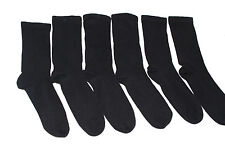 12 pairs mens extra wide comfort fit socks for diabetics.black