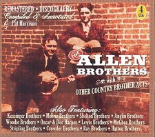 ALLEN BROTHERS - AND OTHER COUNTRY BROTHER ACTS (THE LEWIS BROTHERS) 4 CD NEU