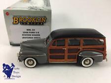 1/43 BROOKLIN BML 23 FORD V8 STATION WAGON WOODIE 1948