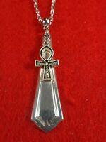 Cross Silverware Spoon Handle Pendant Necklace Flatware Fashion Jewelry HOT