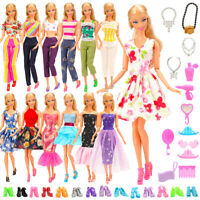 Barwa Random 5 sets of fashion set + random 10 shoes + fixed 13 accessories