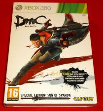 DMC Devil May Cry SPECIAL EDITION SON OF SPARDA XBOX 360 Italiano COMPLETO - FG