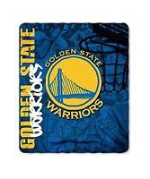 "Basketball Licensed NBA Golden State Warriors Fleece Throw Blanket 50"" X 60"""