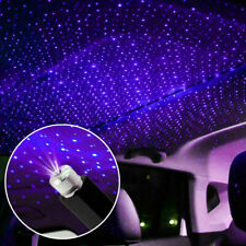 New listing Usb Car Interior Atmosphere Blue Star Sky Lamp Ambient Star Light Led Projector