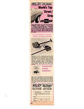 1967 NICKEY CHEVROLET CAMARO / BILL THOMAS RACE CARS  ~  ORIGINAL PRINT AD
