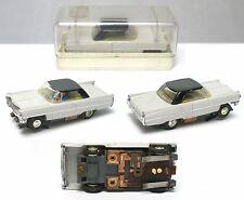 Vintage 1960s Faller Germany CADILLAC Hardtop H.O. Slot Car Incredible! #4857