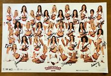 ARIZONA CARDINALS CHEERLEADERS 100% AUTHENTIC AUTOGRAPHED POSTER, 32 SIGNATURES