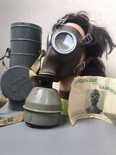 Belgian L-702 Gas Mask 1939 Masque à Gaz  Complet
