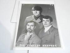 #890 VINTAGE 8x10 MUSICIAN PHOTO - FINDERS KEEPERS band AUTOGRAPHED