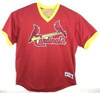 Vtg Majestic St Louis Cardinals Albert Pujols #5 Baseball Jersey Shirts Sz 2XL