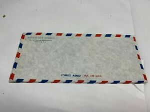 Vintage Airmail Air Mail Envelopes Mexico City College #10