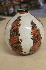 ancien vase BOCH - Decor D1065