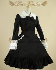 Cosplay Vintage Gothic Lolita Fantasy Cute Coat Dress