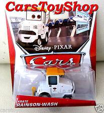 Disney Cars 2 Krate Rainson-wash Rainsonwash Airport Truck 2013 Mattel Pixar