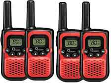 Oricom PMR780 Handheld UHF Two Way Compact Radio Walkie 80 Channel Red