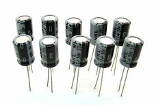 33uF 50V Radial Lead Electrolytic Capacitors: Small Size: 10/Pack: Great Price