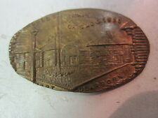 1933 Chicago World's Fair Fort Dearborn Elongated Cent